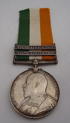 King's South Africa Medal 2 Clasp  - Royal Lancaster Regiment