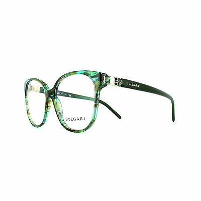 Bvlgari Glasses Frames 4105 5340 Green Fantasy Womens 54mm