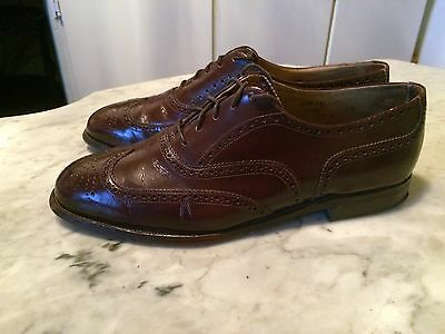 vintage '80 DACKS wingtip oxford rockabilly classic mens shoes sz 11.5D