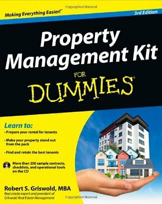 Property Management Kit for Dummies®-Robert S. Griswold