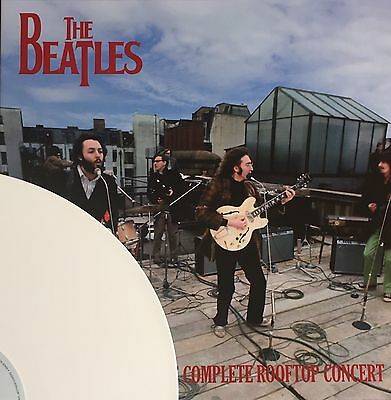 The Beatles The Complete Rooftop Concert WHITE COLOURED VINYL LP NEW RARE