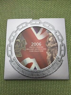 Lovely 2006 Brilliant Uncirculated Royal Mint Presentation 10 Coin Set UK BUNC