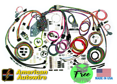 1967 67 1968 68 chevy c10 truck wiring harness american autowire rh picclick com