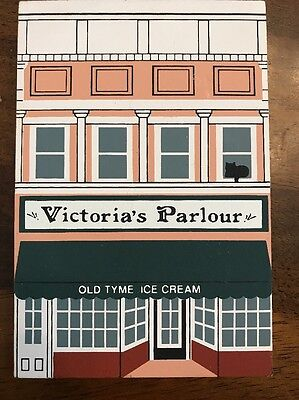 The Cats Meow 1990 Series VIII Victoria's Parlour