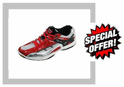 ADULT UK SIZE 12 ASHAWAY ABS506 COURT SHOE SHOES BADMINTON SQUASH Trainers