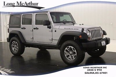 2013 Jeep Wrangler UNLIMITED 4X4 RUBICON SUV 6 SPEED MANUAL FREEDOM HARD TOP ALLOY WHEELS, OFF ROAD TIRES