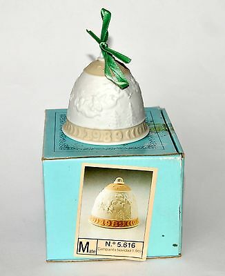 Boxed Lladro 1989 Christmas Bell