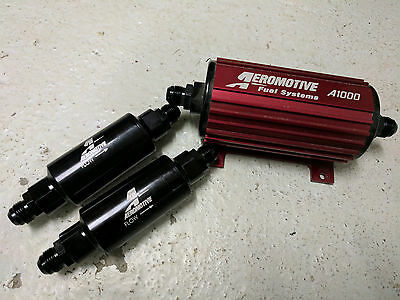 Aeromotive A1000 fuel pump and filters