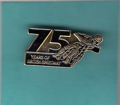 75  Years  Of   Speedway   Gold    Badge
