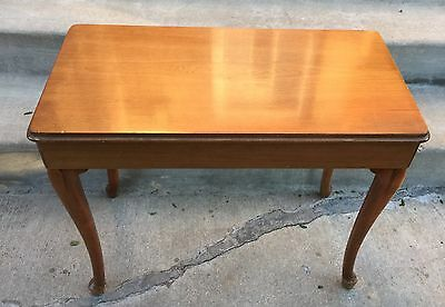 "1961 Baldwin Provincial French Organ Bench 27"" x 22"" x 13.5"" Piano"