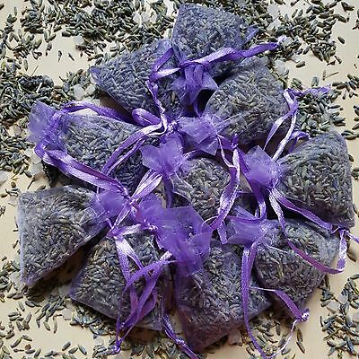 LAVENDER BAGS Lovely scent /Wardrobe/Air Freshner/Calming/Sleep Aid/Gifts