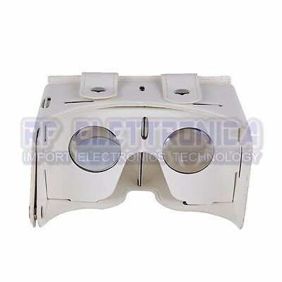 TOCHIC Leather 3D VR Glasses Virtual Reality Games Movies Device Pour 4.0-inch