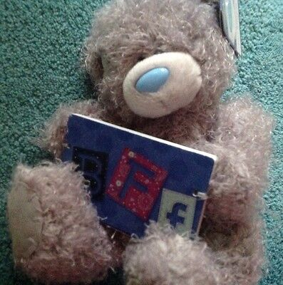 Tatty Teddy me to you bear with BFF plaque birthdays or gifts