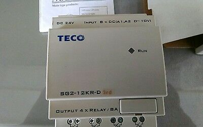 PROGRAMMABLE LOGIC CONTROLLER TECO SG2-12KR-D  brand new never used
