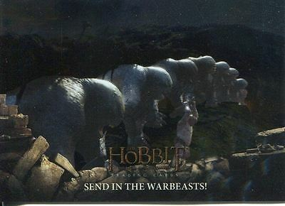 Hobbit Battle Of 5 Armies Foil Base Card #52 Send in the Warbeasts!