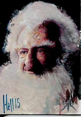 Hobbit Battle Of 5 Armies Sketch Card By Charles Hall