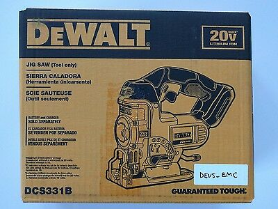 Brand new sealed Dewalt DCS331B 20V Max* Cordless Jig Saw (2 Blades inc)