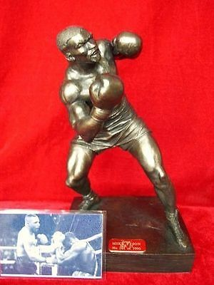 Mike Tyson Fighting Legends Forever Model Statue Sculpture Ltd Edition Of 1000