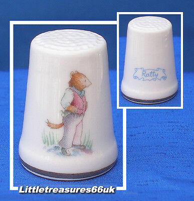 Royal Albert Thimble......wind In The Willows - Ratty