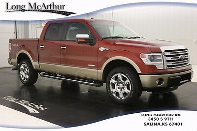 2014 Ford F-150 KING RANCH 4WD CREW CAB MSRP $54420 NAVIGATION, MOONROOF, LEATHER SEATS, REMOTE START, REAR VIEW CAMERA