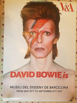 David Bowie Is Barcelona Exclusive Poster Rare!