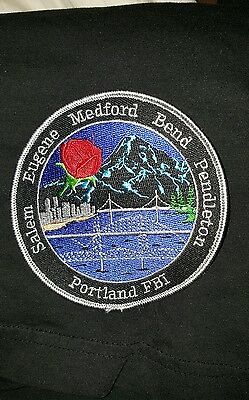 "FBI Portland Division Police patch ""Obsolete"" (Authentic)!!!!"