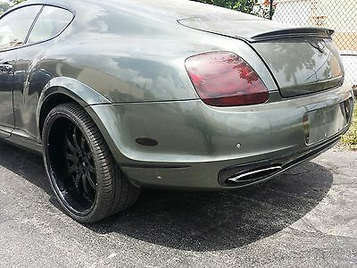 2005-2011 Bentley Continental GT SS Style Rear Bumper Cover w/Flares (UNPAINTED)
