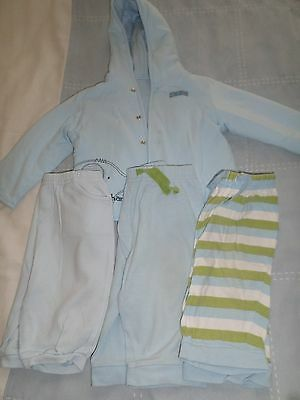Baby boy's bundle joggers and coat 6-9 months
