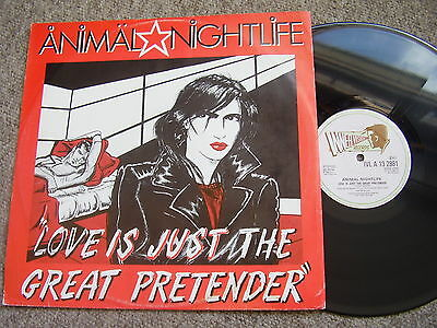 ANIMAL NIGHTLIFE Love Is Just The Great Pretender INNERVISION 1982 PS EX-