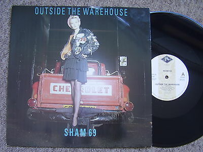SHAM 69 Outside The Warehouse LEGACY 1988 PIC SLEEVE EXCELLENT