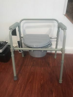 Drive Comode Health Disability Medical Heavy Duty Toilet Seat!!