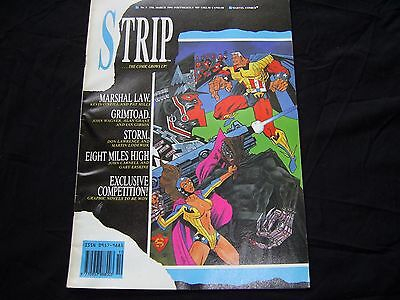 STRIP No.3 MARVEL COMICS 1990 Alan Grant, Pat Mills, John Wagner