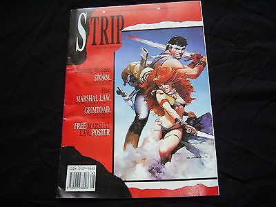 STRIP No.2 MARVEL COMICS 1990 Alan Grant, Pat Mills, John Wagner, Marshal Law