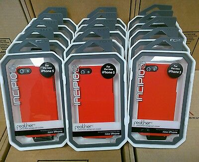 Lot of 15 Incipio Feather Snap on Red Cell Phone case for iPhone 5/5S