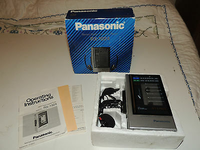 Vintage Panasonic FM AM Radio Cassette Player RX-1924 Working in Box