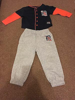 Detroit Tigers Majestic Baseball Uniform Jersey Tracksuit - Kids/ Youth