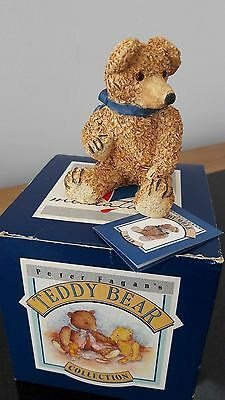 Colour Box Bear - Bumble, Signed by Peter Fagan.