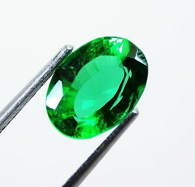 4.90 Ct Natural Oval Cut Beautiful Colombian Green Emerald Gemstone