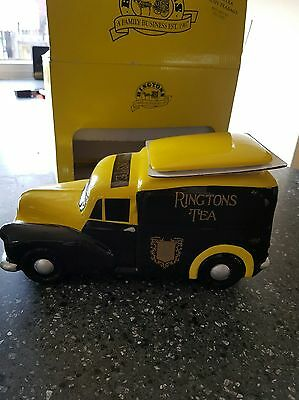 bnwb wade ringtons morris minor tea caddy