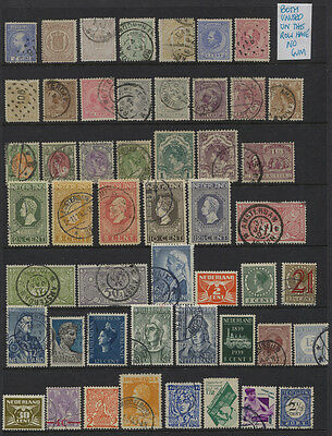Netherlands 1867 - 1941 MH / MNH / Used Collection CV $157.55