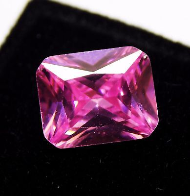 4.80 Ct Natural Oval Cut Cambodia Neon Zircon Pink Color Gemstone A
