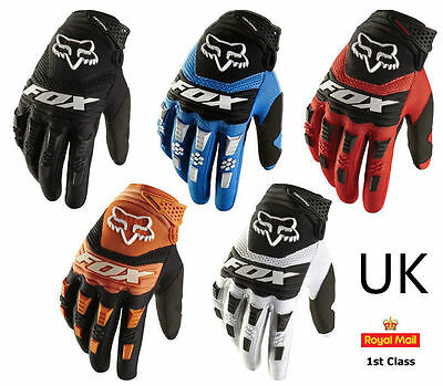 Full Finger Racing Motorcycle Gloves TLD  KTM BMX ATV FOX DH MTB Bike