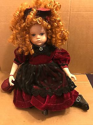 The Connoisseur Doll Collection, Seymour Mann Sitting Porcelain Doll