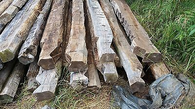 Reclaimed Antique Hand-Hewn Chestnut Barn Beams