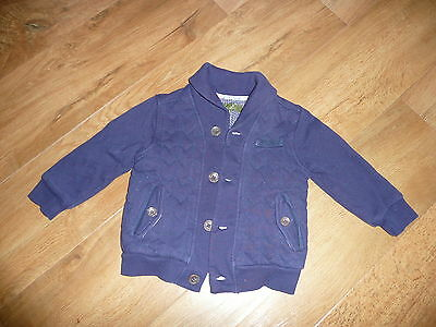 Baby Boys Ted Baker Navy Jacket Age 18/24 Months Must See