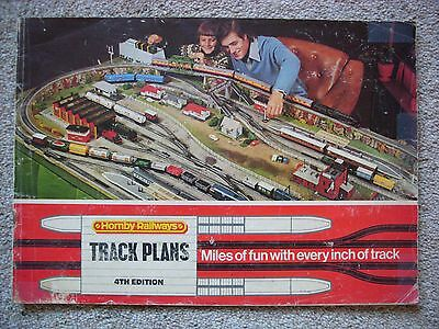 Vintage Hornby Railways 4th Edition Track Plans 1976.