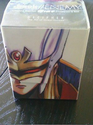 .Hack//Enemy Limited Deck Box sealed Collector Edition