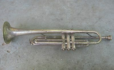 1930s H.N. White Cleveland Toreador Trumpet. Peashooter. Repair Project.
