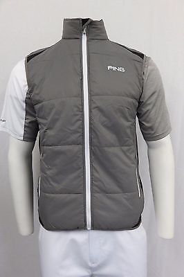 Men's Ping Golf Water Resistant Windproof Insulated Top Gilet Size L SP61