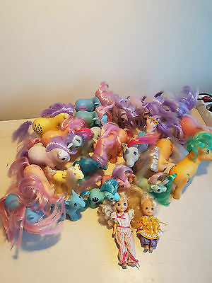 My Little Pony G1 Vintage HUGE LOT of ponies megan molly, Italy, Clipper